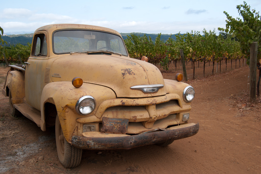 Vineyard Truck ~ Dry Creek Valley, California
