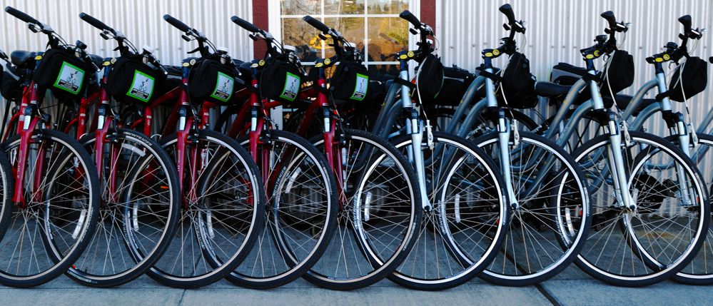 Bicycles ~ Healdsburg, California