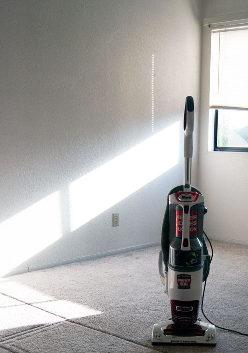 Vacuum in Room