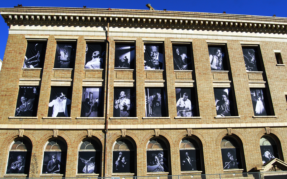 Jazz Wall ~ San Francisco, California